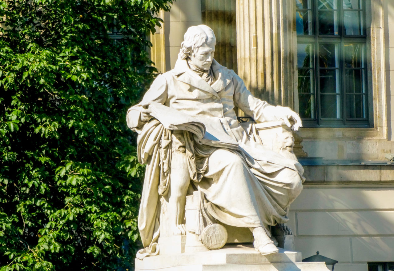 Памятник Вильгельму Гумбольдту