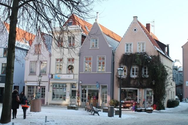 Старинный квартал Schnoor