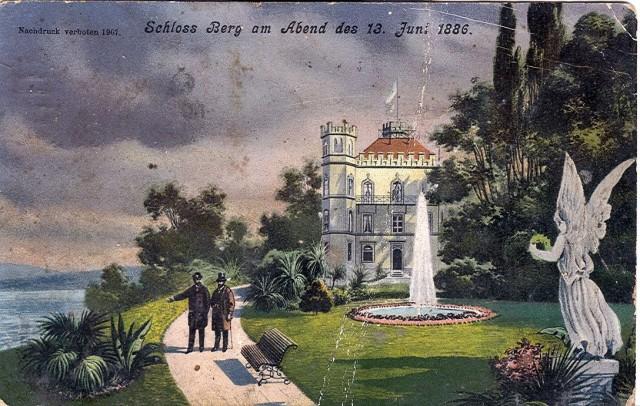 Замок Берг, 1886