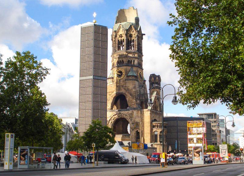 Мемориальная церковь кайзера Вильгельма (Kaiser-Wilhelm-Gedächtniskirche)