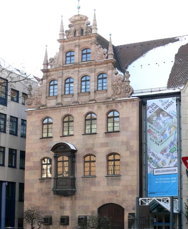 Музей игрушек (Spielzeugmuseum Nürnberg)