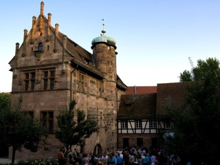 Замок Тухер в историческом центре Нюрнберга