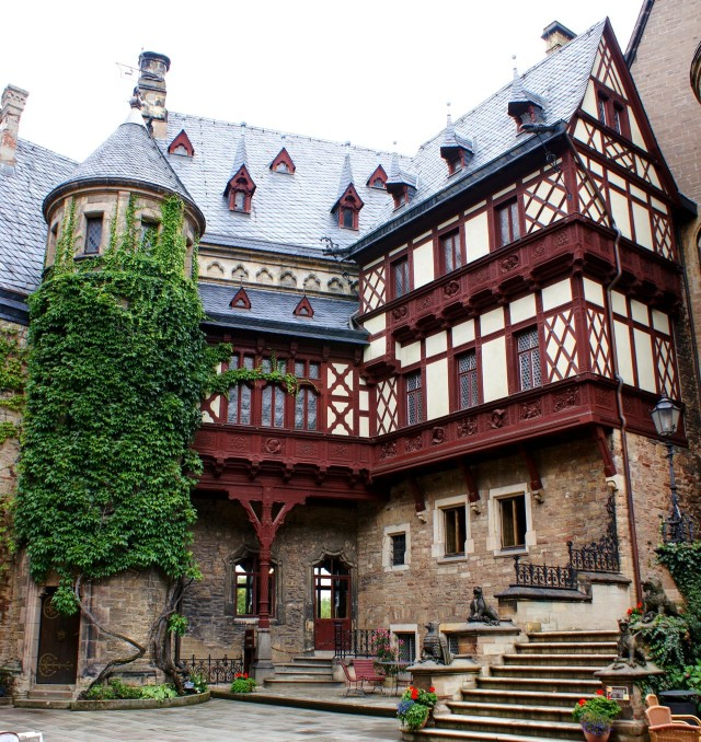 Замок Вернигероде (Schloss Wernigerode)