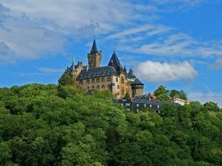 Замок Вернигероде. Историческая резиденция, где снимался «Тот самый Мюнхгаузен»