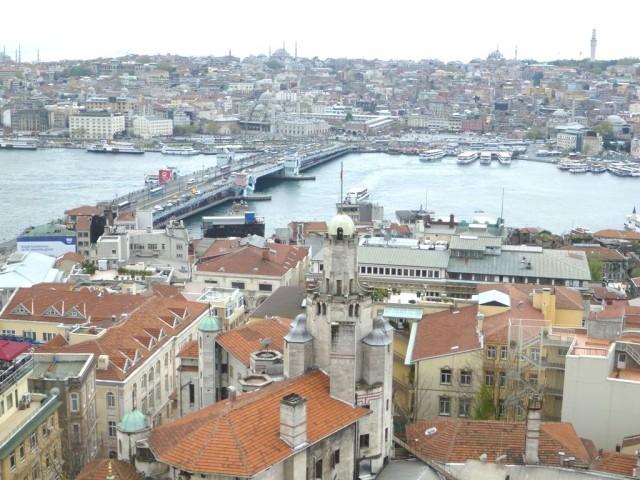 Вид на мост Галата