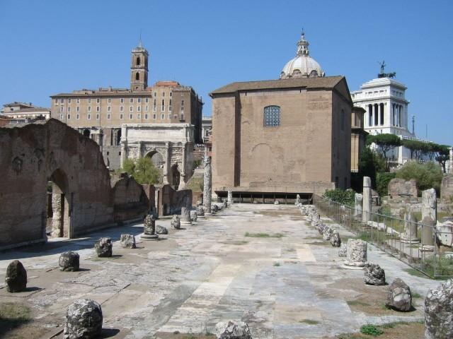 Базилика Эмилия (Basilica Aemilia)