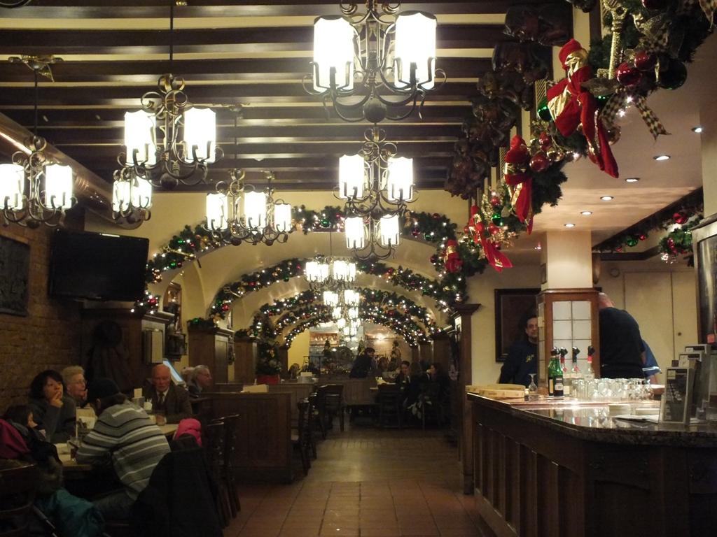 Ресторан У ключа.