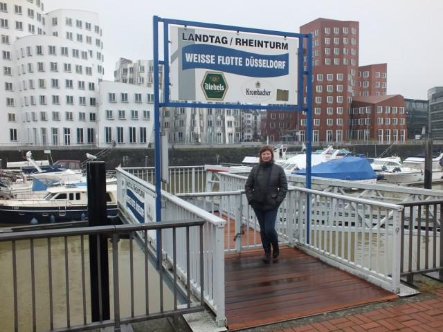 Новый порт Дюссельдорф