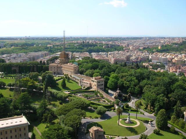 Ватиканские сады (Giardini Vaticani)