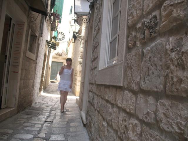 Улицы древнего Трогира и я