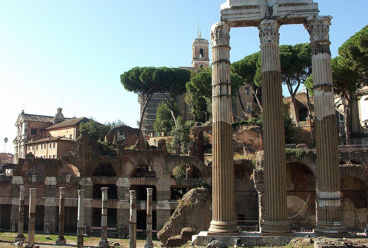 Форум Цезаря,  императорские форумы