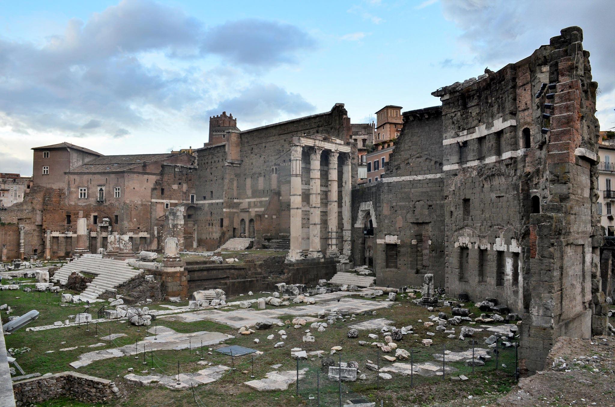Форум Августа, императорские форумы