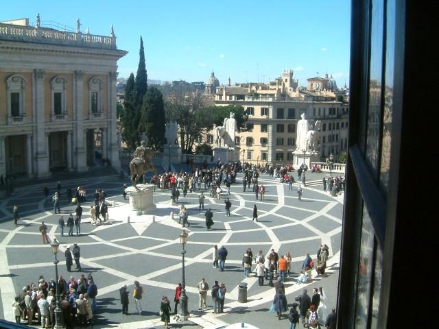 Площадь Капитолия (Piazza del Campidoglio)