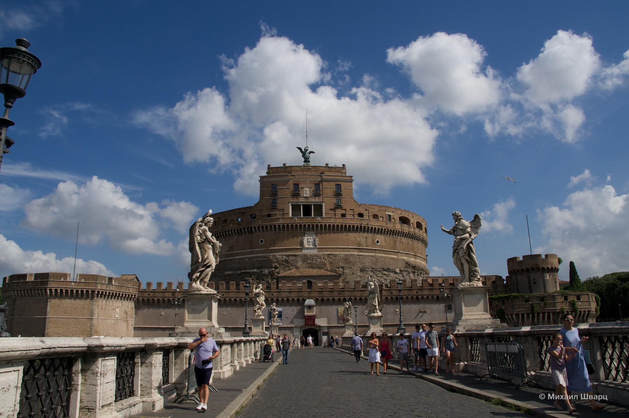 Замок Святого Ангела. Мавзолей императора Адриана