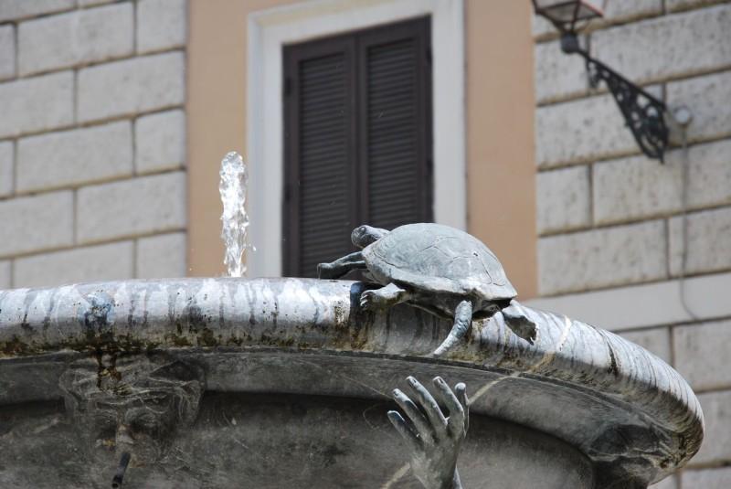 Фонтан Черепах (Fontana dellе Tartarughe)