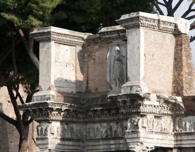 Храм Минервы (tempio di Minerva)