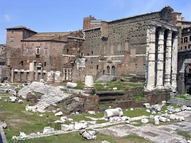 Храм Марса Мстителя (итал. Tempio di Marte Ultore)