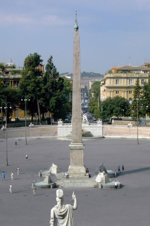 Обелиск Фламиния (L'Obelisco Flaminio)