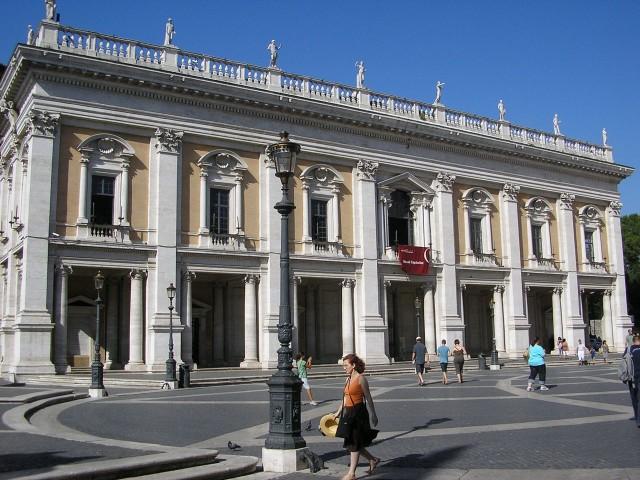 Палаццо Нуово (Palazzo Nuovo)