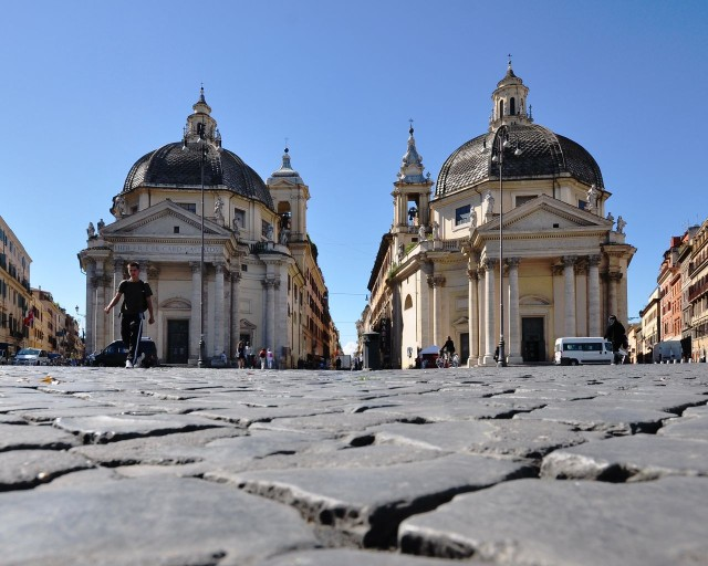 Пьяцца дель Пополо (Piazza del Popolo)