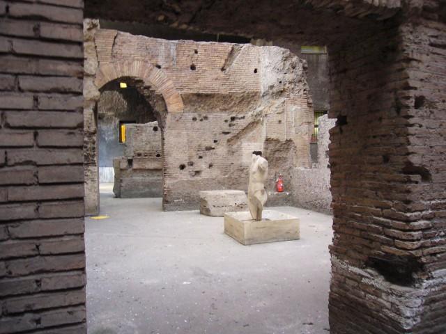 Развалины стадиона Домициана