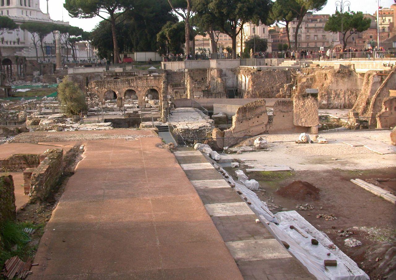 Форум Веспасиана, императорские форумы