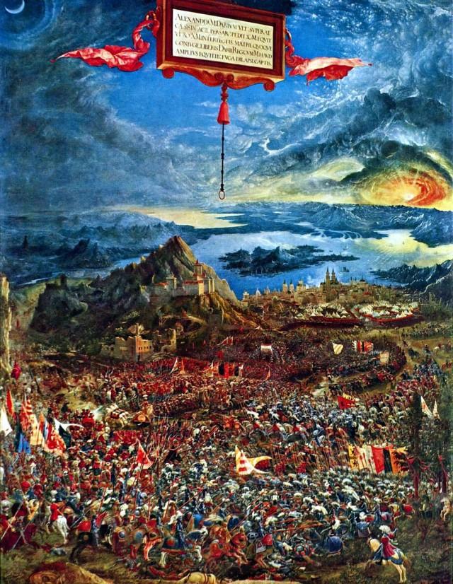 Альбрехт Альтдорфер «Битва Александра»
