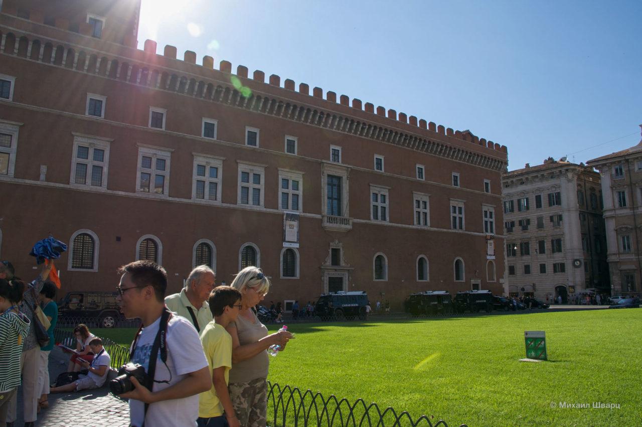 Палаццо Венеция (Palazzo Venezia)