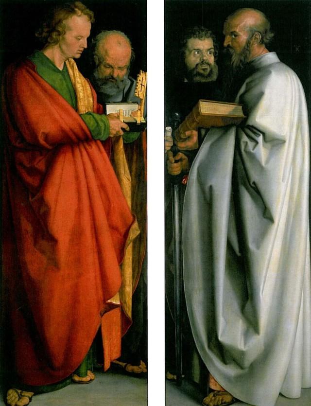 Альбрехт Дюрер «Четыре апостола», 1526 г.