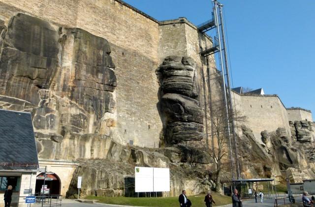 Лифт на крепость
