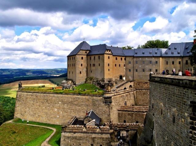 Крепость Кенигштайн (Königstein)