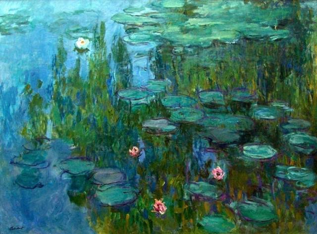 Клод Моне «Водяные лилии», около 1915 г.