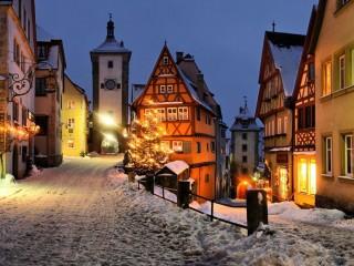 Ротенбург-на-Таубере — «спящий город» из волшебной сказки