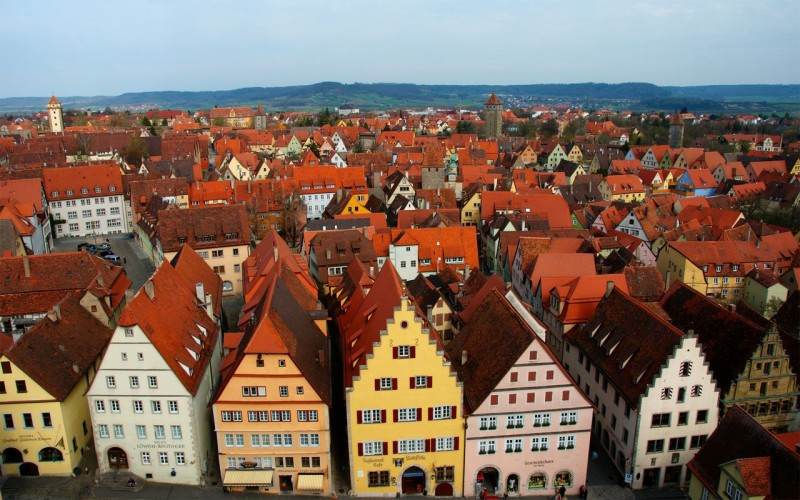 Ротенбург-на-Таубере (нем. Rothenburg ob der Tauber)