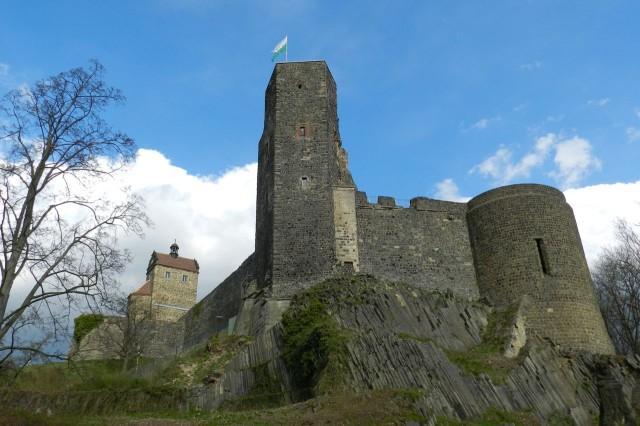 Крепость Штолпен (Burg Stolpen)