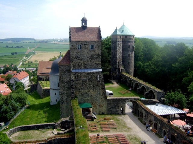 Крепость Штольпен (Burg Stolpen)
