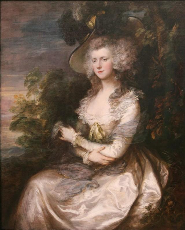 Томас Гейнсборо «Миссис Томас Хибберт», 1786 г.