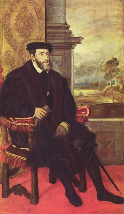 Тициан «Император Карл V»