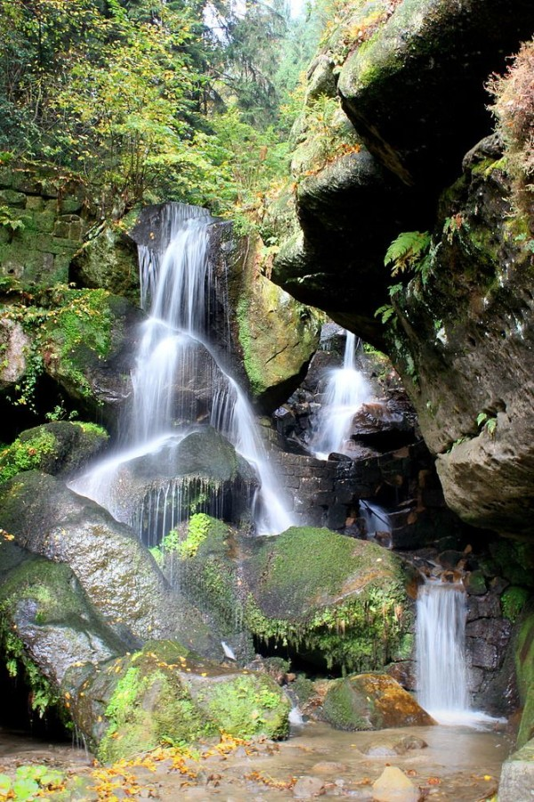 Лихтенхайнский водопад (Lichtenhainer Wasserfall)