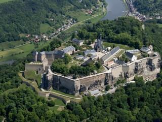 Кёнигштайн — неприступная крепость саксонских королей