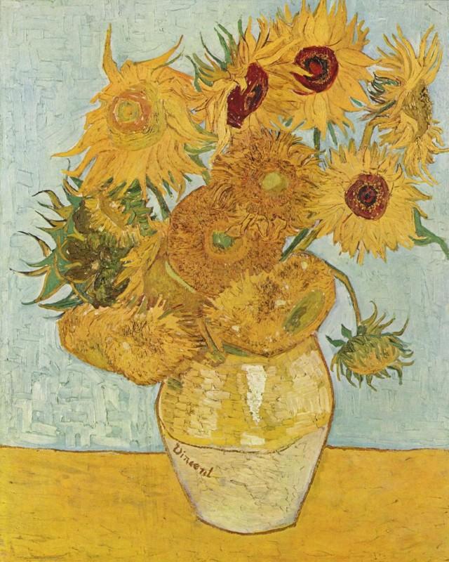 Винсент ван Гог «Подсолнухи», 1888 г.