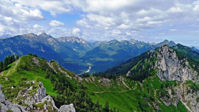 Природный заповедник Ammergebirge