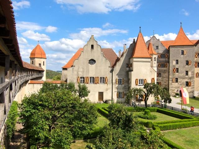 Замок Харбург (Burg Harburg)