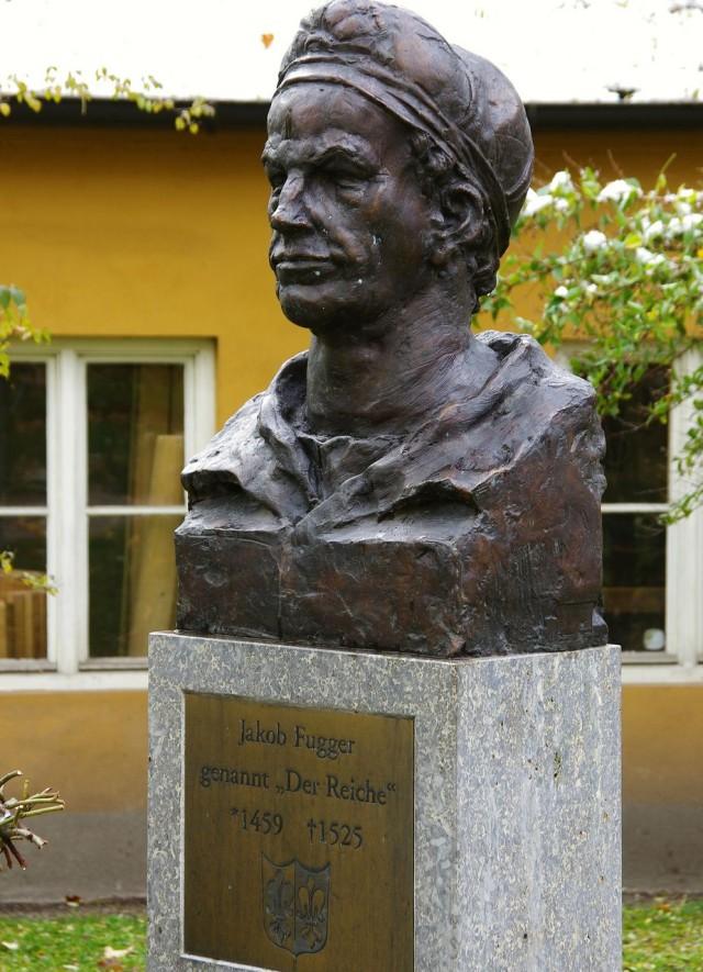 Памятник Якобу  Фуггеру