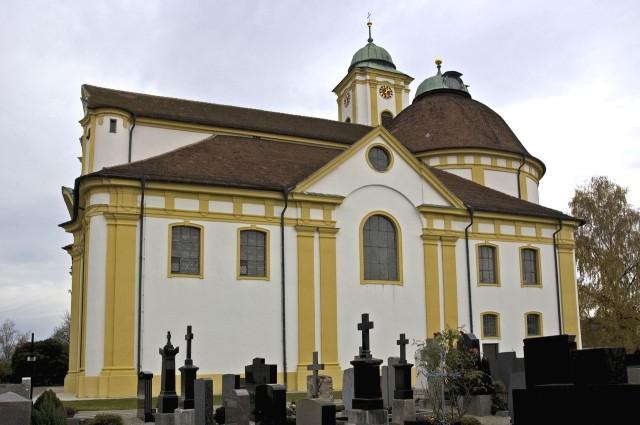 Паломнический храм Покоя Господня (Wallfahrtskirche Herrgottsruh)