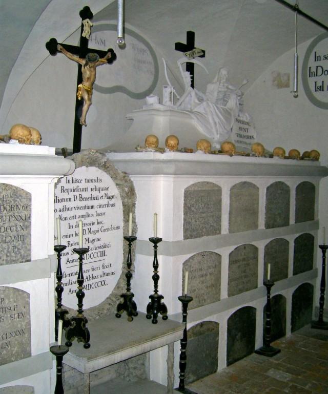 Крипта монастыря