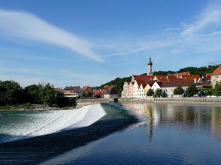 Ландсберг-на-Лехе — самый молодой город на «Дороге романтиков»