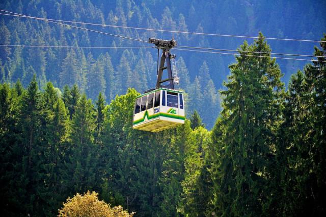 Канатная дорога Tegelbergbahn