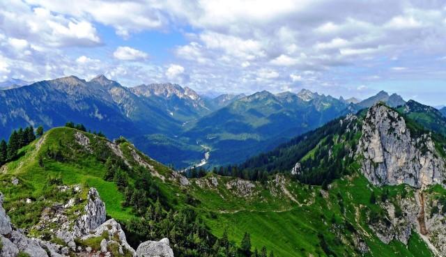 Горный заповедник Ammergebirge