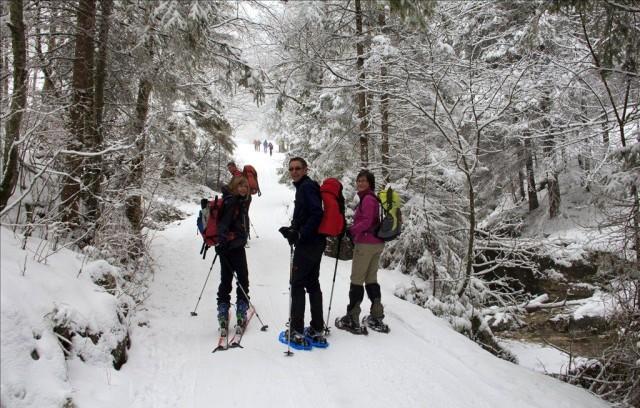 Зимой в Ammergebirge